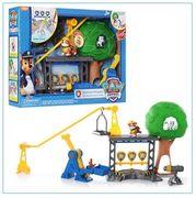 Набор игровой ЩП, дерево, игровая площадка, фигурка, в коробке 41-30,5-8 см