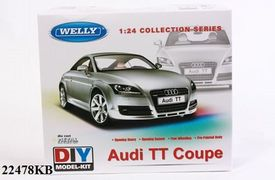 Welly Модель машинка металл 1:24 AUDI TT COUPE