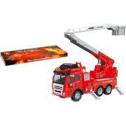 Пожарная машина, под слюдой 19*36*13 см