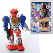 Робот, 22-12-6 см, ходит, звук, свет, на батарейке, в коробке 12-21,5-8 см