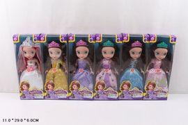Кукла S, 6 видов, музыка, в коробке 11*6*29 см