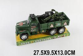 Военная техника, инерционная, с пушкой, под слюдой, 27,5*9,5*13 см