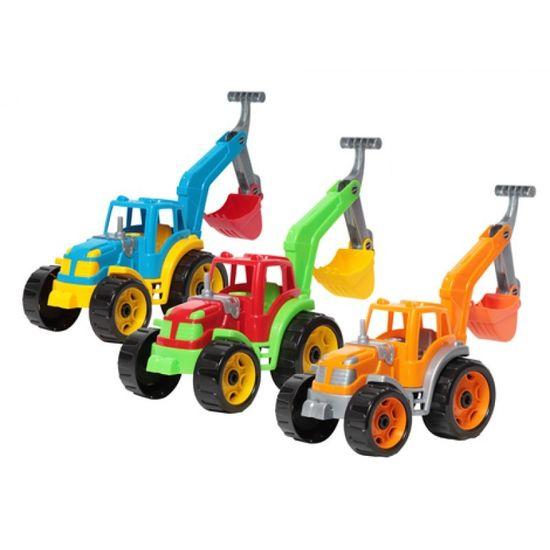 3435 Іграшка Трактор з ковшем ТехноК