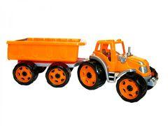 3442 Іграшка Трактор з причепом  Технок