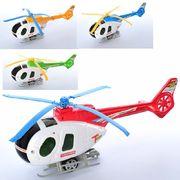 Вертолет, 29 см, заводной, подвижные лопасти, микс цветов, в кульке 29-10-7 см