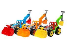 Іграшка Трактор з 2 ковшами ТехноК