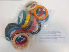 Набор запасок PLA-пластика для 3D ручки, 5 цветов по 10 м