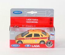 Welly Машинка металл LADA KALINA техническая помощь