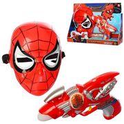Набор супергероя СП, маска, пистолет 18 см, звук, свет, на батарейке (таблетка), в коробке 35-25-7 с