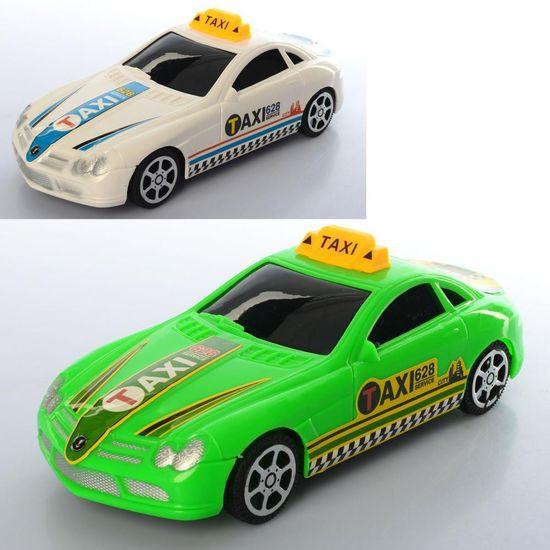 Машина инерционная, такси, 20 см, 2 цвета, в кульке 20-6-8 см