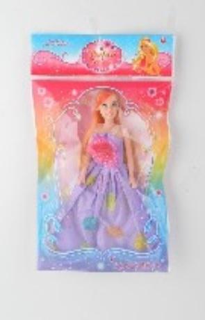 Кукла типа Барби, 3 вида, размер игрушки – 27 см, в пакете 21*35 см