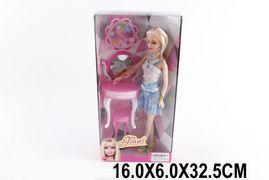 Кукла типа Барби, с мебелью, в коробке 16*6*33 см