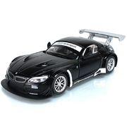 Машина металлическая АВТОПРОМ, 1:24, BMW Z4 GT3, на батарейке, свет, звук, открываются двери, ка