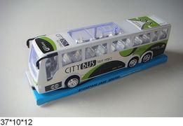 Автобус инерционный, пластик, 37*10*12