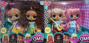 Набор LOL OMG, 2 куклы с аксессуарами, в коробке