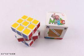 Кубик логика, 6 см, в коробке