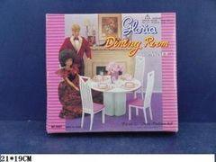 Мебель Gloria Столовая, в коробке 21*19 см