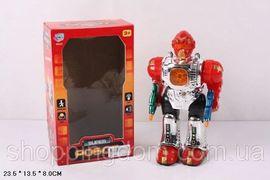Робот PLAY SMART, на батарейке, музыка, свет, в коробке 23,5*8*13,5