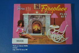 Мебель Gloria 96006 камин кор.29,5*21 ш.к./48/, арт. 96006 (шт.)