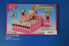 Мебель Gloria 99001 спальня кор.31*4*19 ш.к./48/, арт. 99001 (шт.)