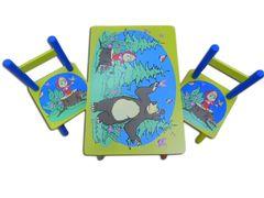 Стол и 2 стульчиками Маша и медведь