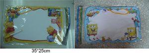 Доска рисовальная Sponge Bob/Винни Пух, 2 вида, в кульке 35*25*1