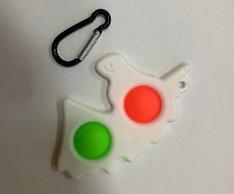 Игрушка антистресс брелок  Simple Dimple Единорог