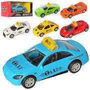 Машина АвтоСвіт, металл, инерционная, 10 см, резиновые колеса, 6 видов, в коробке 14-6,5-6 см