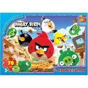 Пазли із серії Angry Birds, 70 ел.