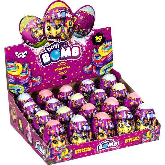 Бомбочка для ванной яйцо с сюрпризом Bath Bomb Pony