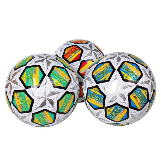 Мяч футбольный 340 г PVC микс 3 цветов