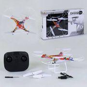 Р.У. Квадрокоптер, свет, вращается на 360 гр., 4 цвета, USB, в коробке 49*9*31,5
