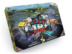 Настільна розважальна гра Crazy Cars Race