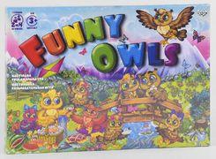 Настільна розважальна гра Funny Owls