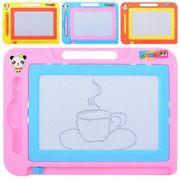 Досточки для рисования ч/б, ручка, 4 цвета, в кульке 25-18-1,5 см