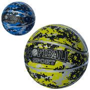 Мяч баскетбольный, размер 7, резина, 540-550 г, 2 цвета