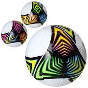 Мяч футбольный, размер 5, ПВХ 1,8 мм, 32 панели, 300-320 г, 3 цвета