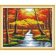 Пейзаж Золота осінь 57х46 см