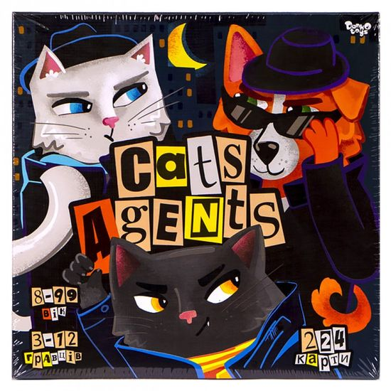 Настольная игра CATS AGENTS
