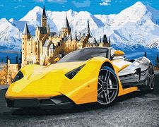 Lamborghini у замка