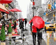 Дождь в Нью-Йорке