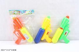 Водяное оружие, 20 см, 3 цвета, в кульке 20*4*11