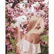 Набір для розпису по номерах Весняна ніжність 40*50 см Сложность 3*