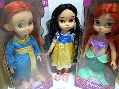 Кукла принцесса, 3вида, 36см