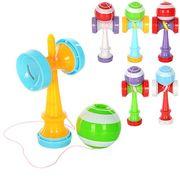 Ловушка, 1 шт., пластик, шарик 1 шт. на веревке, 6 цветов, в кульке 5-11,5-3,5 см
