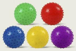 Мяч с шипами, резиновый, 8 см, 17 грамм