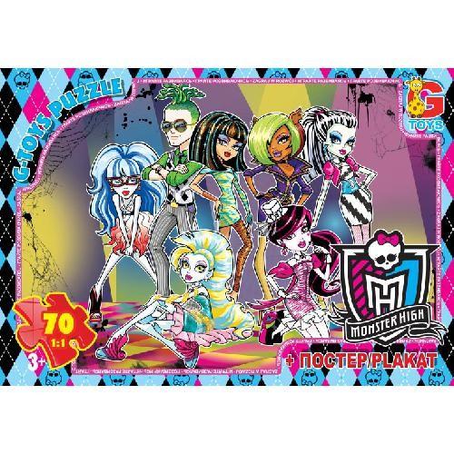 Пазли із серії Monster High. (Школа монстрів) Сьогодні