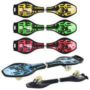 Скейт рипстик, 86-22-13 см, 4 цвета, 2 колеса PU диам. 76 мм, ABEC-5, макс. нагрузка 60 кг, в пакете