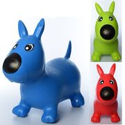 Прыгуны-собачки, ПВХ, 1300 г, 3 цвета, в кульке, 32-34-7 см