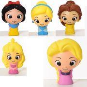 Игрушка DP, сквиши, принцесса, 10 см, антистресс, 5 видов, в кульке 10-6-6 см